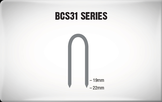 Medium Wire Staples BCS31 Series